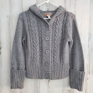 Mudd Gray Bulky Sweater